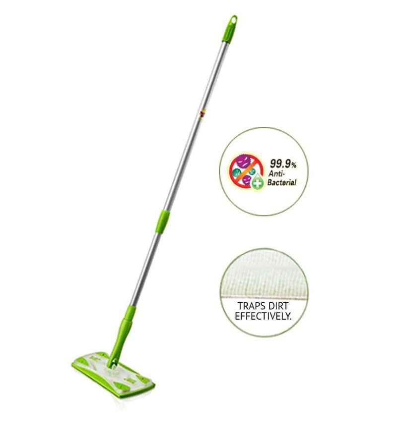 Click to Zoom In Out. Buy Scotch Brite Easy Sweeper Mop with Free Dry  30 Pcs  and Wet