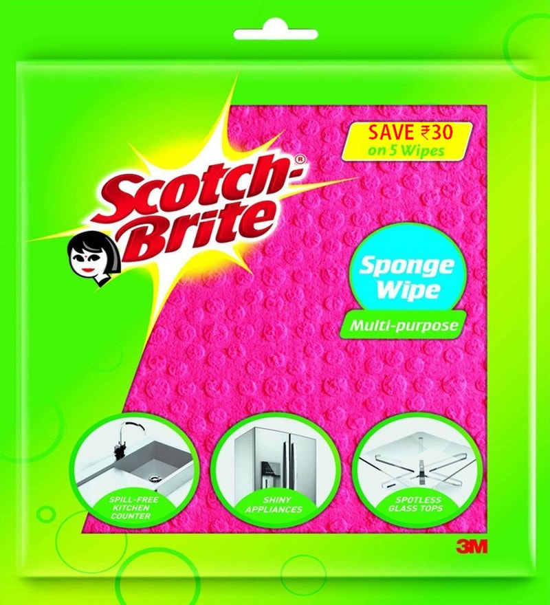 Scotch-Brite Sponge Wipes - Set Of 5