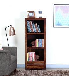 Segur Book Shelf In Provincial Teak Finish