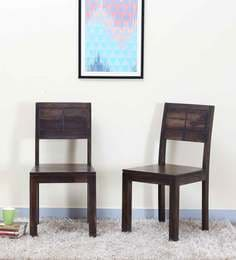 Segur Dining Chair (Set Of Two) In Warm Chestnut Finish