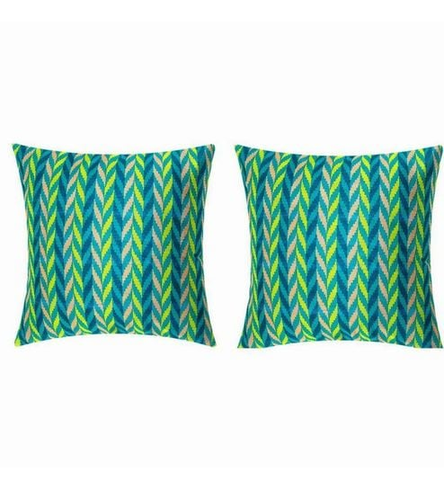 sej hd digital tussar silk cushion cover set of 2 by sej by nisha rh pepperfry com