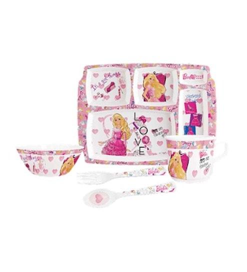 Servewell 5 Pc Kids Dinner Set - Barbie Style  sc 1 st  Pepperfry & Servewell 5 Pc Kids Dinner Set - Barbie Style by Servewell Online ...