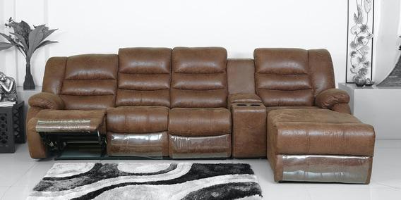 L Shape Recliner Sofa Lounger