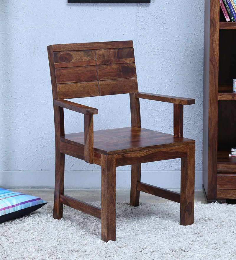 Segur Arm Chair in Provincial Teak Finish by Woodsworth
