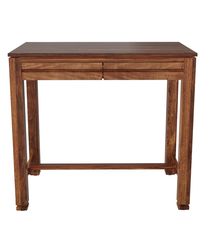 Buy Segur Solid Wood Study Table in Provincial Teak Finish ...
