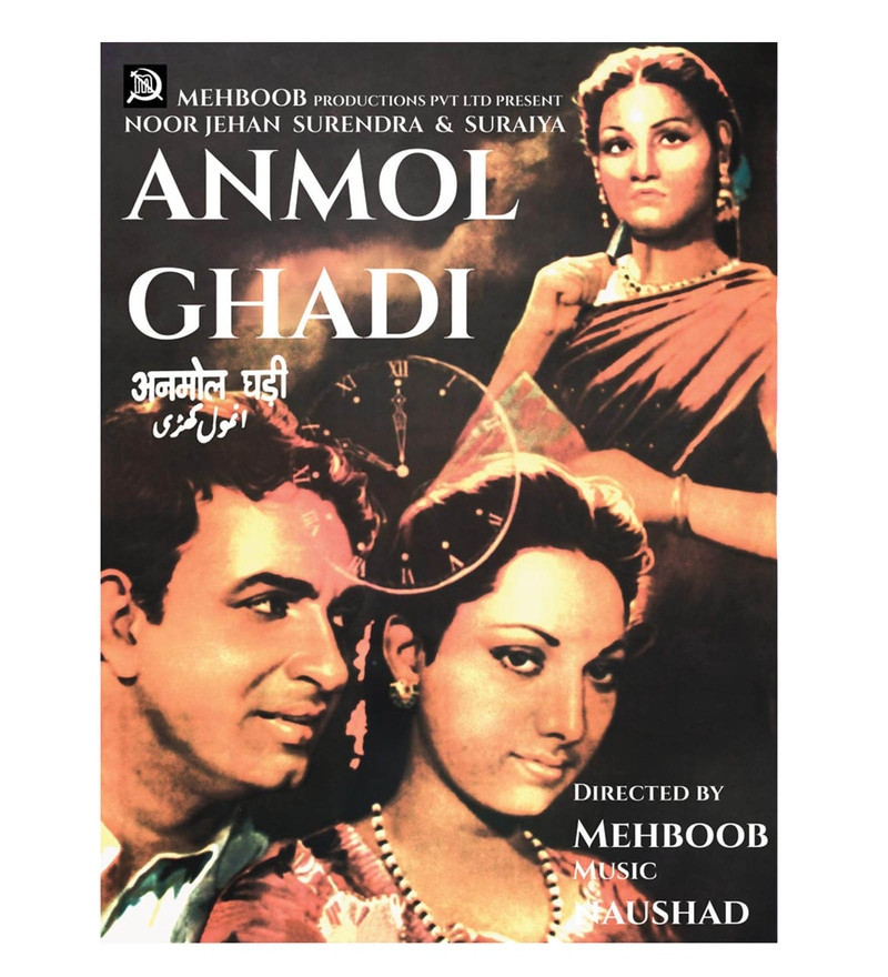 Paper 18 x 24 Inch Anmol Ghadi Unframed Bollywood Poster by Seven Rays