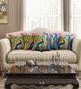 Sej by Nisha Gupta Multicolor Cotton 16 x 16 Inch HD Digital Premium Peacocks Cushion Covers - Set of 5