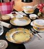 Adorn Yellow Melamine Dinner Set - Set of 22 by Servewell