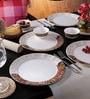 Dora Tribal Paisley Melamine Dinner Set - Set of 18 by Servewell