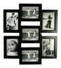 Black Synthetic Wood 5 x 7 Inch Frame Photo Collage by Snap Galaxy