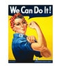 Seven Rays Paper 12 x 1 x 15.5 Inch We Can Do It WW II Unframed Poster