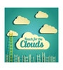 Seven Rays Paper 12 x 1 x 18 Inch Reach For Clouds Unframed Poster