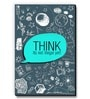 Blue MDF Think Its Not Illegal Yet! Fridge Magnet by Seven Rays