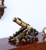 Shagun Arts Gold Wood & Brass Collectible