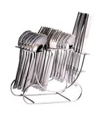 Shapes Triple Dot Stainless Steel 25-piece Cutlery Set