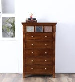 Lanford Chest of Drawers in Provincial Teak Finish