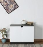 Shoe Cabinet in White Finish