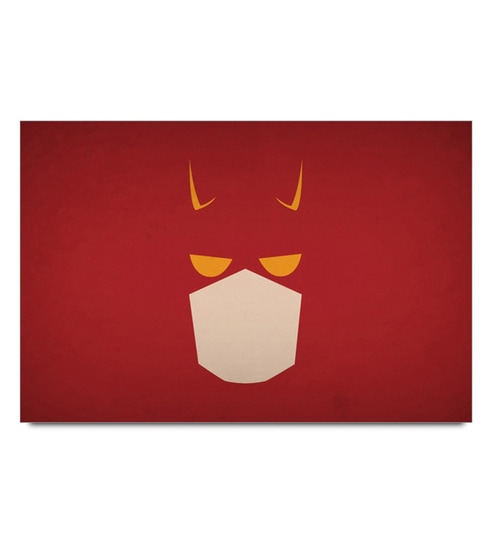 Paper 19 x 13 Inch Dare Devil Minimal Unframed Laminated Poster by Shop Mantra