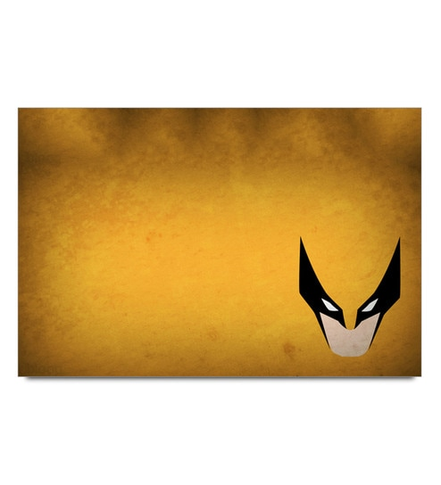 Paper 19 x 13 Inch Hawkgirl Minimal Unframed Laminated Poster by Shop Mantra