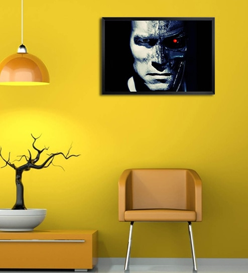 9f5664f3dc Wooden 19 x 1 x 13 Inch Terminator Salvation Framed Poster by Shop Mantra
