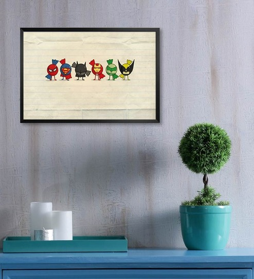 Buy Shop Mantra Mdf 19 X 13 Inch Angry Birds Laminated Framed Poster