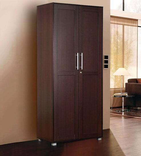 Superieur Shou Two Door Wardrobe In Wenge Finish By Mintwud
