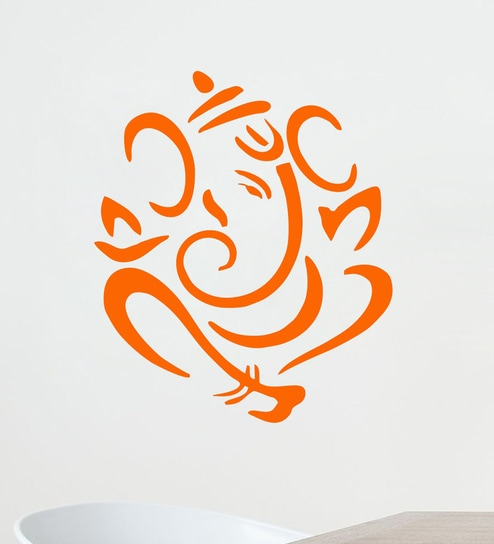 buy lord ganesha wall sticker & decalstickeryard online