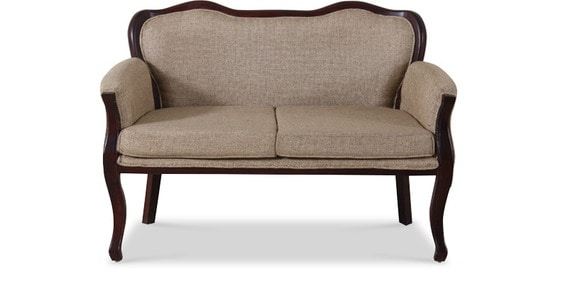 Buy Sheffield Madera Two Seater Sofa In Passion Mahogany Finish by ...