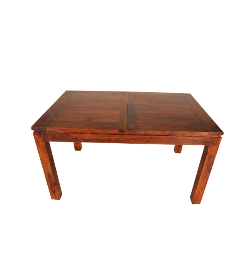 Buy Sheesham Wood Extendable Dining Table Online Contemporary Dining Furniture Pepperfry Product