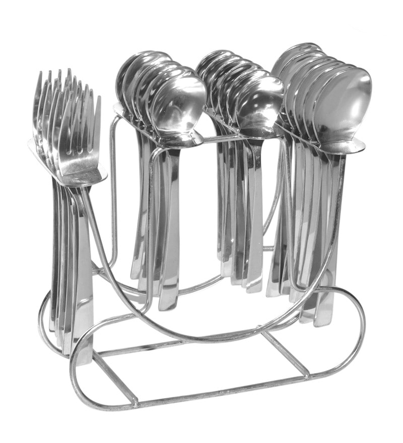 Shapes Koko Alpha Stainless Steel 25-piece Baby Cutlery Set