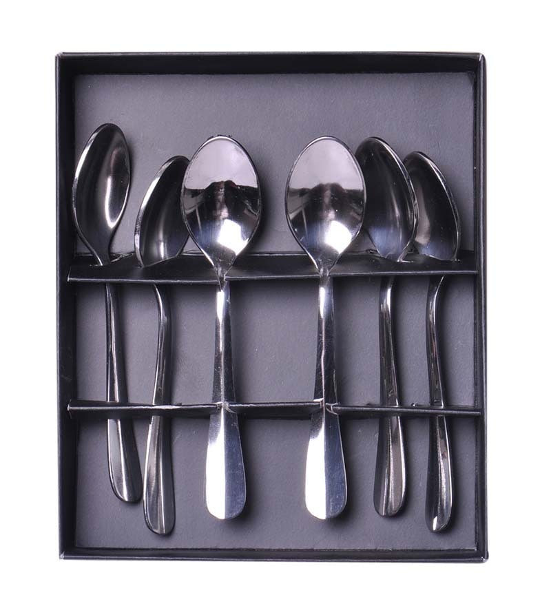 Shapes Rose Stainless Steel Spoon - Set of 6
