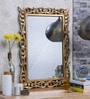 Shaz Living Gold Glass & MDF Mirror