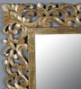 Gold Glass & MDF Merrakesh Mirror by Shaz Living