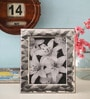 Shaze Resin with Silver Plating Tropez Single Photo Frame