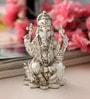 Shaze Resin with Silver Plating Argyros Ganesha Idol