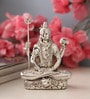 Shaze Resin with Silver Plating Enigmatic Shiva Idol