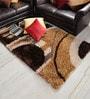 Shobha Woollens Multicolour Polyester Area Rug