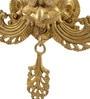 ShopEndHere Gold Brass Najar Battu Showpiece