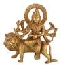 Gold Brass Shera Mata Idol by ShopEndHere