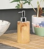 Shresmo Yellow Polyresin Soap Dispenser