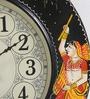 Multicolour MDF 11 Inch Wall Clock by ShriNath