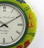 Multicolour MDF 18 Inch Round Fish Handicraft Wall Clock by ShriNath