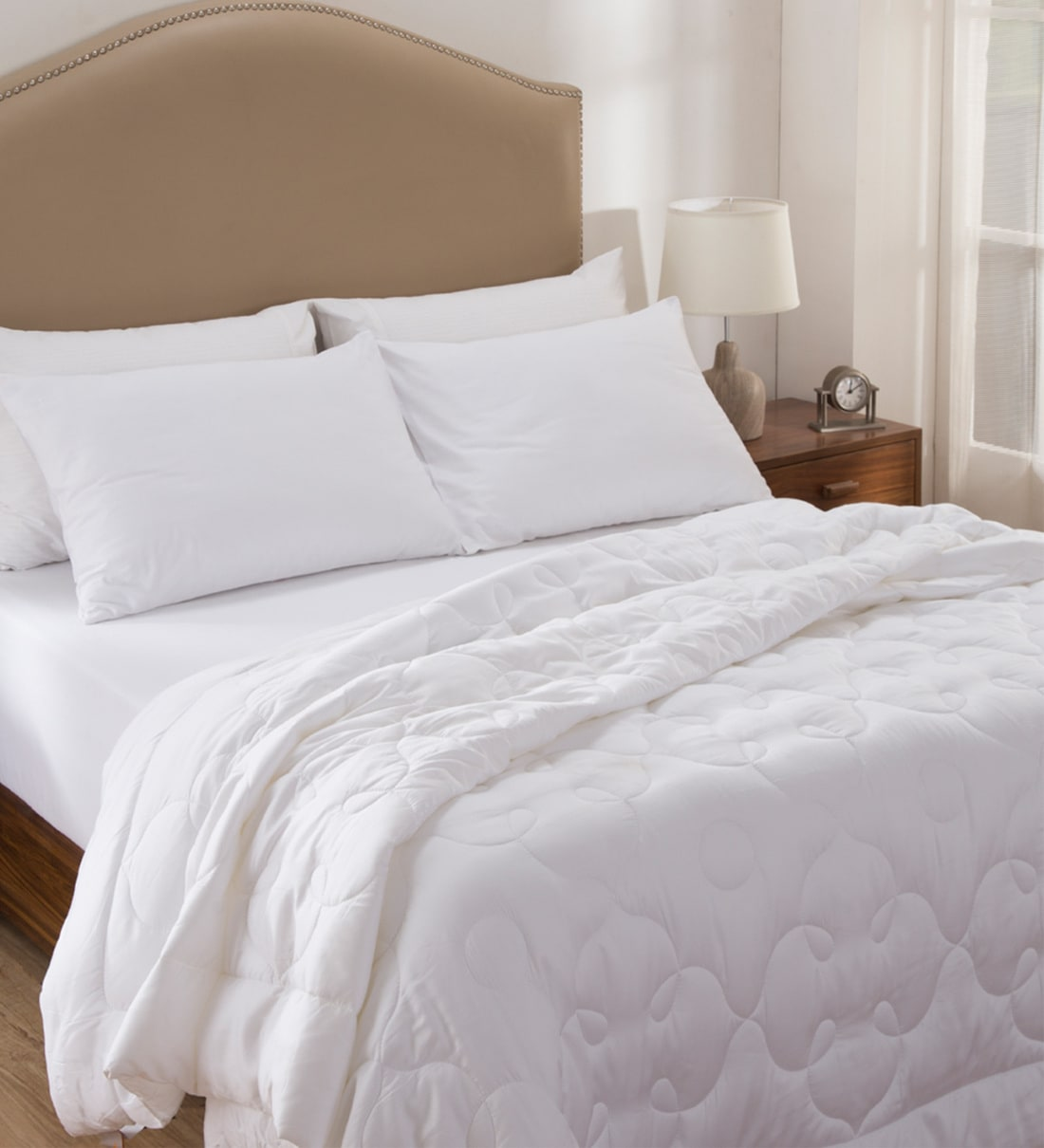 Buy Silk Sleep 100 Cotton Microfiber Filled Queen Size Ac Room Duvet By Maspar Online Double Bed Duvets Bed Linen Furnishings Pepperfry Product