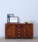 Oriel Two Door Four Drawer Sideboard in Honey oak Finish
