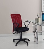 Sino Ergonomic Chair in Red and Black Colour