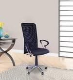 Sino High Back Ergonomic Chair in Black Colour