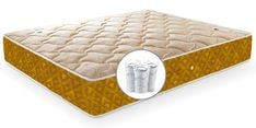Single Size (72 x 48 ) 8 Inches Thick Pocketed Spring Mattress
