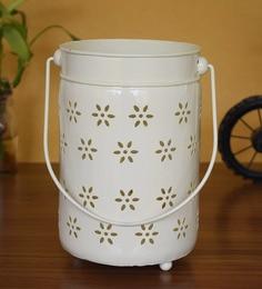 Silver Metal Tea Light Holder - 1716571