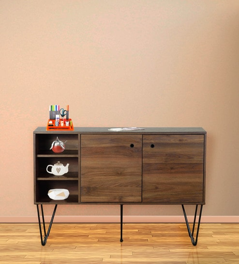 Beau Cabinet In Columbia Brown Finish By DHEP Furniture