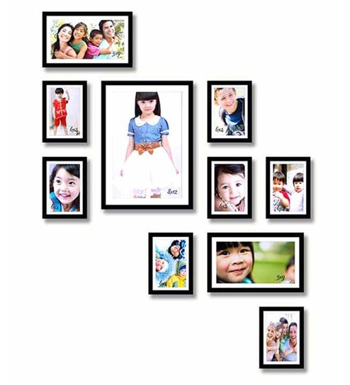 Sifty Collection Collage Black Wood & MDF Photo Frame by sifty ...